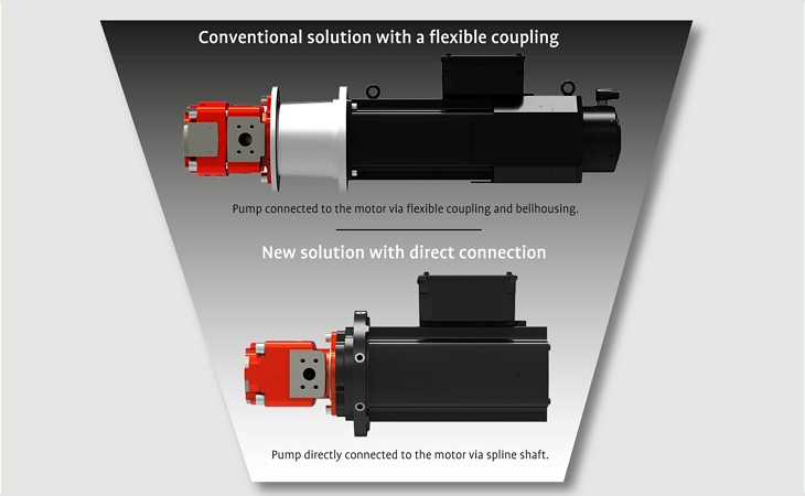 Comparison hydraulic drive solutions for die casting machines